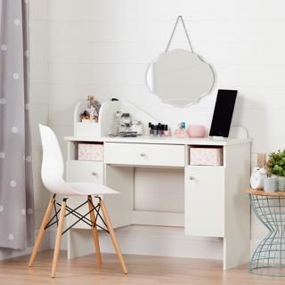 Bureau coiffeuse avec tiroir