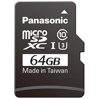 Carte mémoire Micro SDXC 64go classe 10 uhs-1 u3