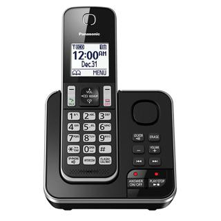 Téléphone sans fil Dect6 avec afficheur et répondeur 15 min