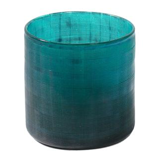 Vase décoratif turquoise - petit