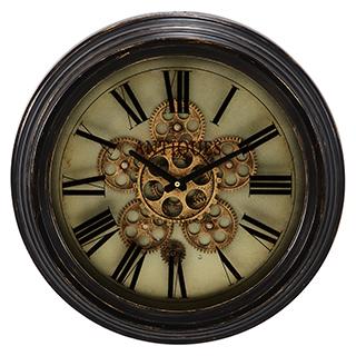 Horloge murale avec mouvement apparent 18 po