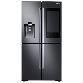 Réfrigérateur à double porte 22 pi3 Technologie connectée