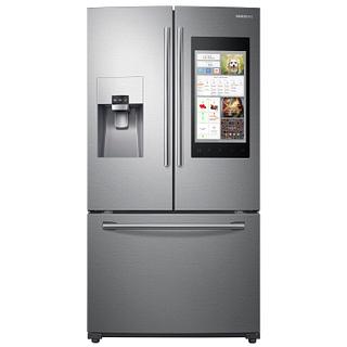 Réfrigérateur à double porte 24.2 pi3 Technologie connectée