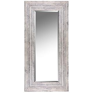 Miroir beige antique 22 x 46 po