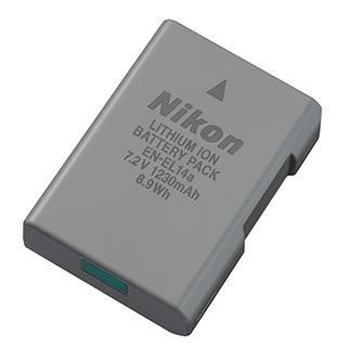 Pile rechargeable D3400, D5300, D5600