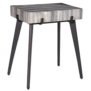 Table d'appoint avec dessus en marbre