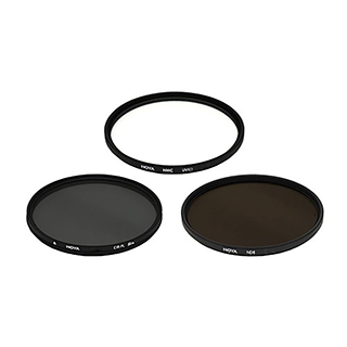Trousse 3 filtres UV/polarisant 52mm Hoya