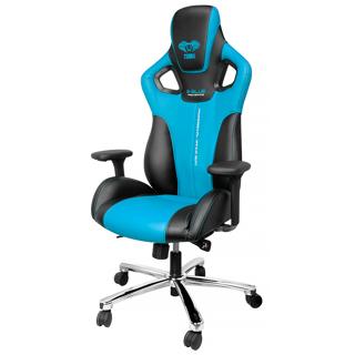 Chaise Cobra bleue et noire pour gamer