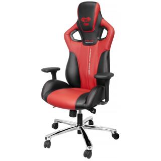 Chaise Cobra rouge et noire pour gamer