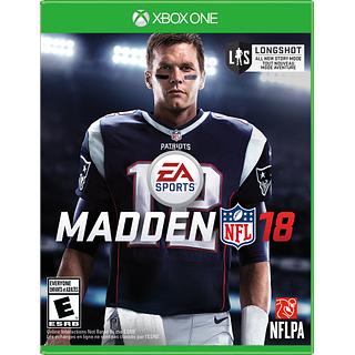 Jeu de Football Madden NFL 2018 pour Xbox One