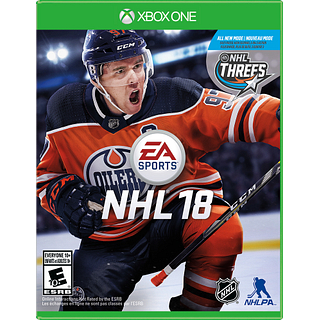 Jeu NHL 2018 pour XBox One