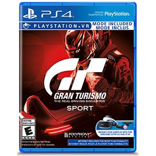 Jeu Grand Turismo GT Sport pour PS4