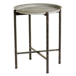 Table d'appoint style champêtre