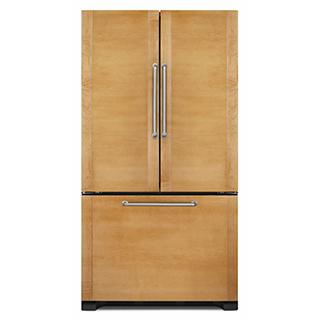 Réfrigérateur à double porte 21,9 pi3 à recouvrir