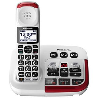 Téléphone sans fil avec amplificateur et répondeur numérique