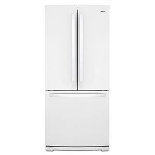 Réfrigérateur à double porte 19.7