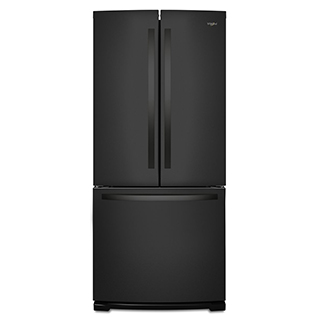 Réfrigérateur à double porte 19.7 pi3