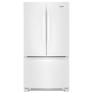 Réfrigérateur à double porte 25.2 pi.cu.