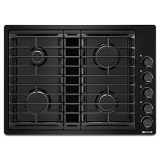 Plaque de cuisson au gaz avec ventilation intégrée 30po