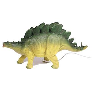 Lampe de chevet Stegosaurus en polyrésine