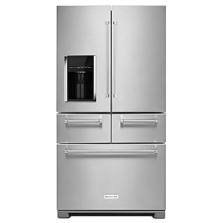 Réfrigérateur à double porte 25,8