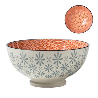 Bol porcelaine motif gerbera