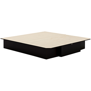 Plateforme très grand lit avec tiroir
