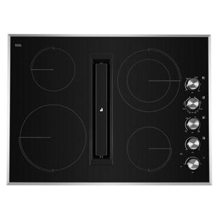 Plaque de cuisson avec ventilation intégrée