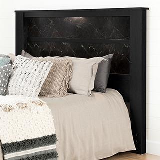 Tête de lit King avec lumières intégrées