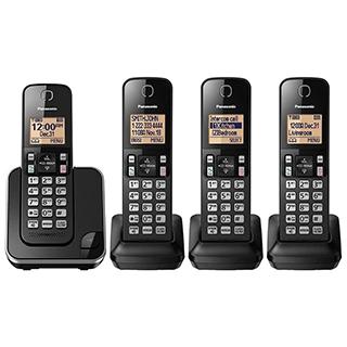 Téléphones sans fil Dect6 avec afficheur