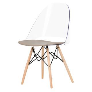 Chaise de bureau style Eiffel