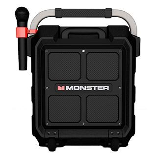 Haut-parleur ROCKIN'ROLLER PRO Boombox Bluetooth sur roues