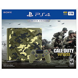 Playstation PS4 1To Call of Duty WWII édition limitée