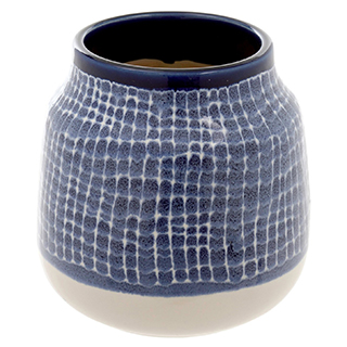 Vase décoratif Stella - bleu cobalt