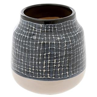 Vase décoratif Stella - Gris charbon