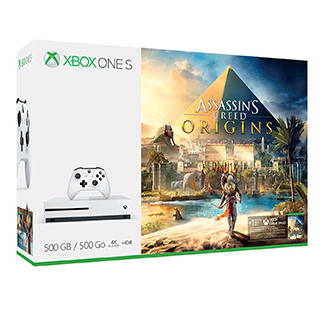 Console XBox One S 500Go Assassin's Creed Origins