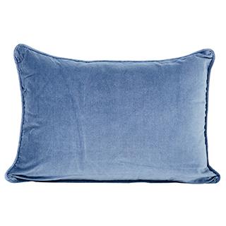 Coussin 14X20 Bleu