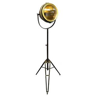 Lampe de plancher style projecteur 52po