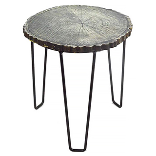 Table d'appoint style rustique