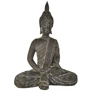 Sculpture Bouddha assis 20 po