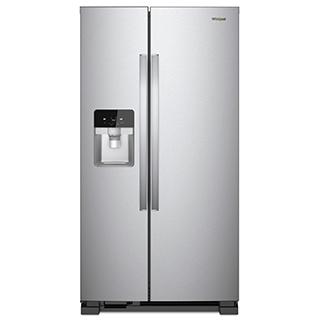 Réfrigérateur côte à côte 24.5 pi.cu