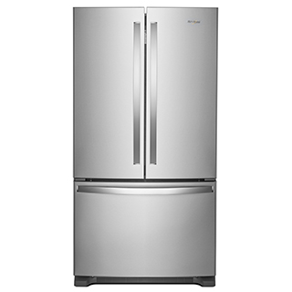 Réfrigérateur à double porte 25.20 pi.cu.