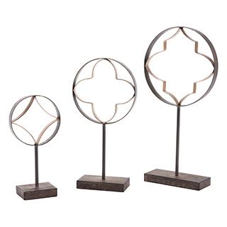 Ensemble de trois sculptures
