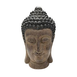 Tête Bouddha 10x10x16
