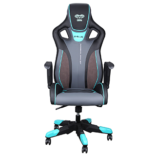 Chaise Cobra 2.0 gamer bleue