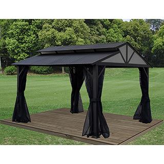 Pavillon Morélia 10x12' Bronze