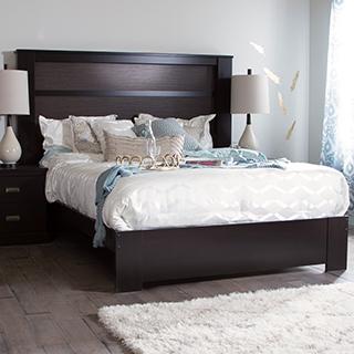 Tête de lit king avec lumières