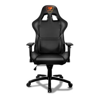 Chaise Cougar pour gamer noire