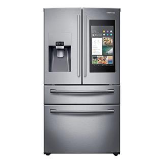 Réfrigérateur à double porte 27.7 pi3