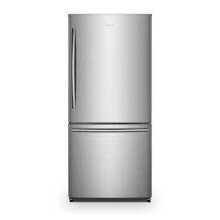 Réfrigérateur congélateur en bas 17 pi.cu.